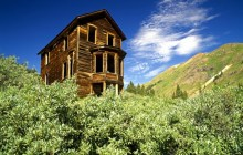 Bay Window House - Animas Forks Ghost Town - Colorado