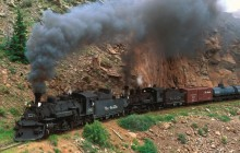 Cumbres and Toltec Steam Train - Colorado