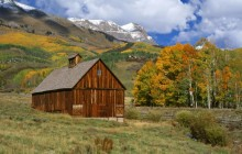 Telluride Barn - San Juan Mountains - Colorado