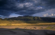 Dark Sky Over Great Sand Dunes National Park - Colorado
