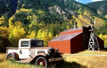 1931 International Pickup Truck - Near Twin Lakes - Colorado