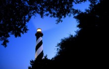 St. Augustine Lighthouse at Twilight - Florida