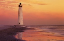 Cape St. George Lighthouse - Gulf of Mexico - Apalachicola - Florida
