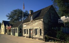 The Oldest Wooden Schoolhouse in the US - St. Augustine - Florida