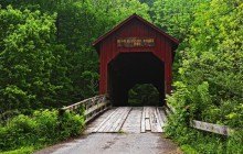 Covered Bridge - Bean Blossom - Indiana