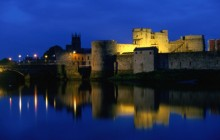 King John's Castle Reflected in the River Shannon - Ireland