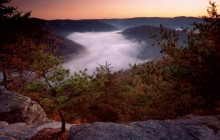 Foggy Morn - Red River Gorge - Kentucky