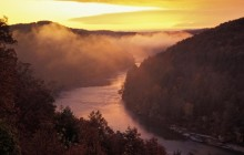 Sunrise Over the Cumberland River - Corbin - Kentucky