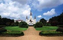 St. Louis Cathedral - Jackson Square - New Orleans - Louisiana