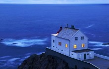 Weather Station - Krakenas - Stadhavet Sea - Vagsoy - Norway