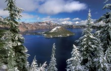 The Wizard of Awe - Wizard Island - Crater Lake Park - Oregon