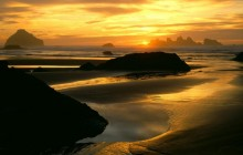 Coastal Sunset - Bandon State Park - Oregon