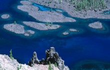 Skell Channel - Crater Lake National Park - Oregon