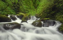 Rushing Waters - Columbia River Gorge - Oregon