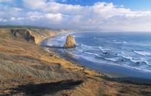 Looking South From Cape Blanco - Cape Blanco Park - Oregon