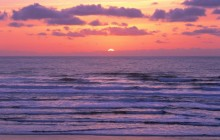 Pacific Ocean Sunset - Coos County - Oregon
