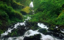 Wahkeena Falls - Columbia River Gorge - Oregon