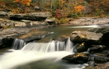 Fall Color Along Stony Clove Creek - New York
