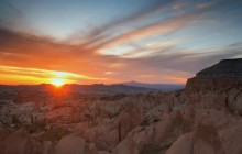 Sunset - Badlands National Park - South Dakota