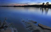 Fort Loudon Lake at Dusk - Knoxville - Tennessee