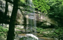 Rainbow Falls in Late Spring - Great Smoky Mountains - Tennessee