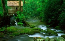 Reagan Mill - Roaring Fork - Great Smoky Mountains - Tennessee