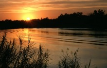 Ox-Bow Lake at Sunset - Bentsen-Rio Grande Park - Texas