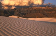 Gypsum Sand Dunes - Guadalupe Mountains - Texas