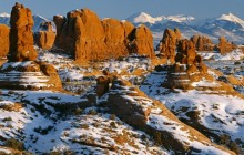 Parade of Elephants - Arches National Park - Utah