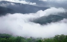 Clearing Storm Clouds Along Skyline Drive - Shenandoah Park - Virginia