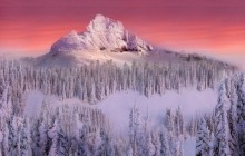Pinnacle Peak on Mount Rainer - Washington