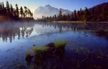 Picture Lake - Mount Shuksan - Washington