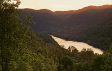 Sunset Glow on the New River - West Virginia