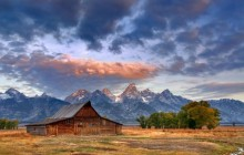 Moulton Surprise - Moulton Barn - Grand Teton Park - Wyoming