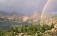 Island Lake Rainbow - Bridger Forest - Wyoming