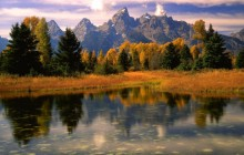 Morning Light - Grand Teton National Park - Wyoming