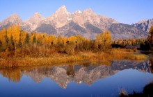 Grand Reflection - Grand Teton Park - Wyoming