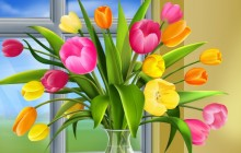 Bouquet of Tulips - Bouquets