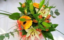 Gerberas and lilies bouquet - Bouquets