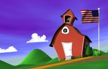 American chapel wallpaper - Funny